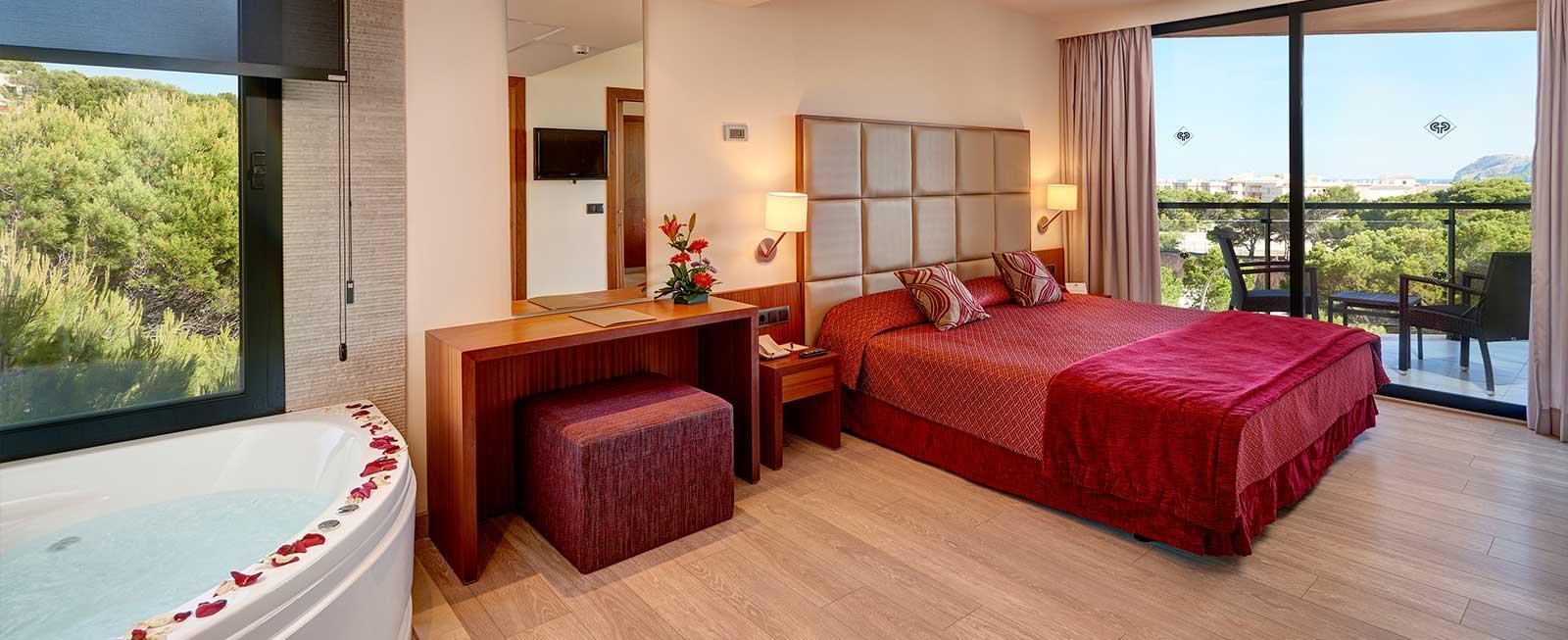 Junior Suite Superior Protur Turo Pins Hotel Spa Cala Rajada