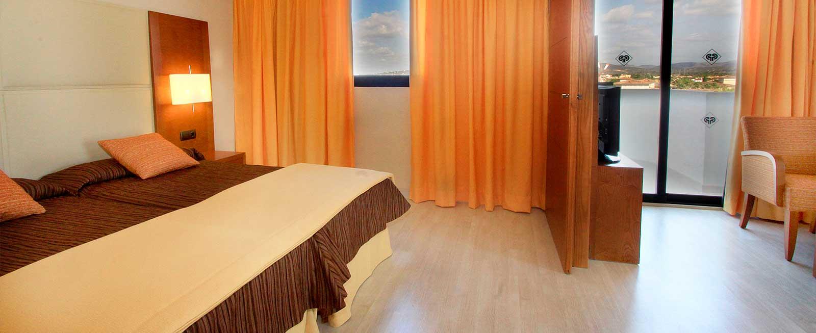 Doble Deluxe Protur plameras Playa Aparthotel
