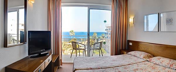 Doble Vista Mar Protur Bonamar Hotel
