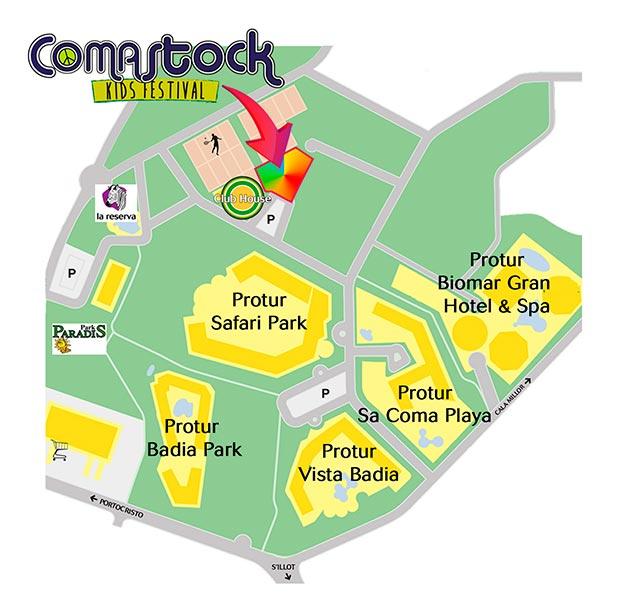 Comastock Kids Festival Protur Hotels