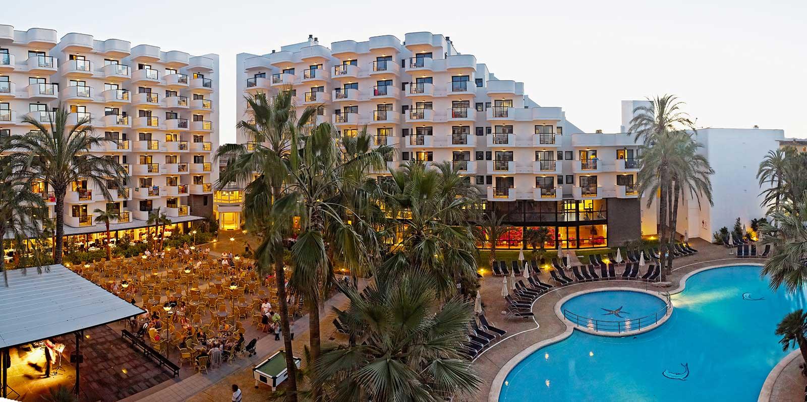 Hotel Sa Coma Mallorca Protur Palmeras Playa Aparthotel