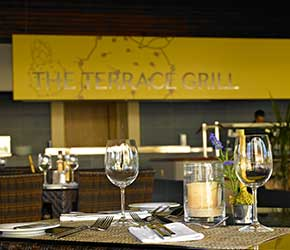 Restaurante The Terrace Grill